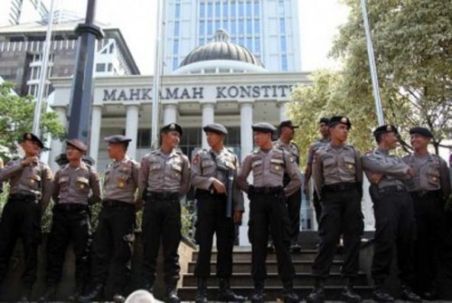 Mahkamah Konstitusi, Jakarta Menjadi Salah Satu Prioritas Utama Pengamanan Aparat (Fhoto Ist)