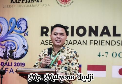 Presiden Kappija-21, Mr. Mulyono Lodji