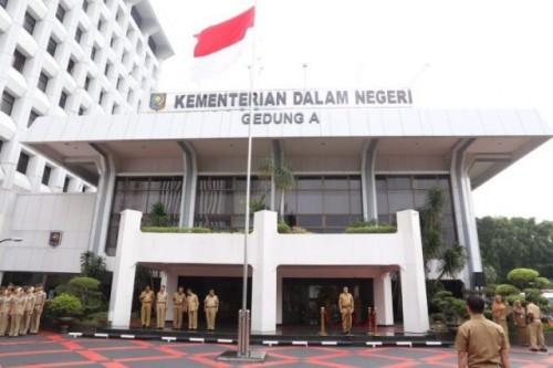Kemendagri Akan Beri Sanksi Kepada Guburnur Bupati dan Walikota Yang Tidak Melakukan PTDH Terhadap ASN Yang Terlibat Kasus Korupsi (Foto Logo Kemedagri)