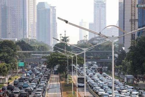 Setelah Mati Lampu Kualitas Udara Jakarta Makin Baik Senin Pagi (Foto Istimewa)