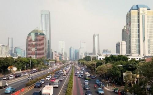 Ilustrasi - Suasana cerah di sekitar kawasan Semanggi, Jakarta. (Foto Ant)