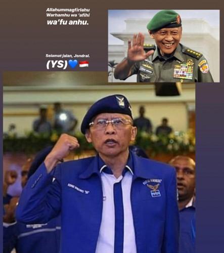 Jenderal TNI (Purn) Pramono Edhie Wibowo
