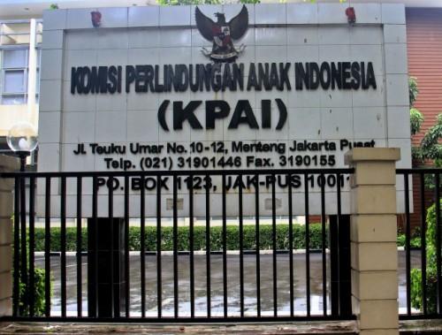 Komisi Perlindungan Anak Indonesia (KPAI) Jakarta Pusat. (Foto: Istimewa)